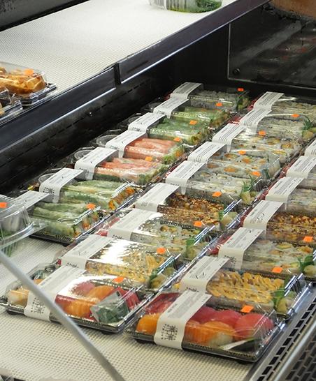 Kachin Sushi made fresh on-site