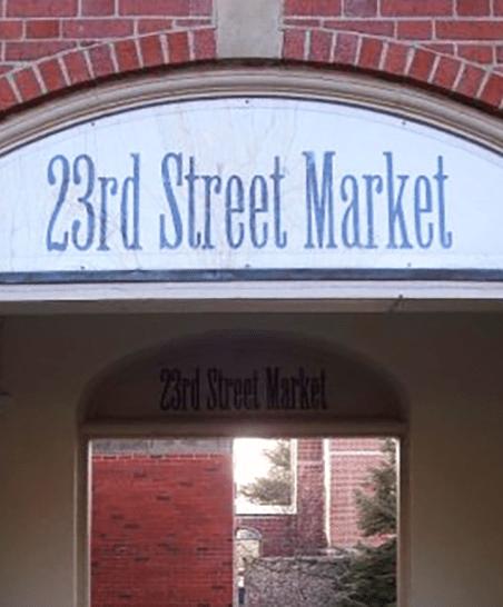 23rd Street Market Entrance