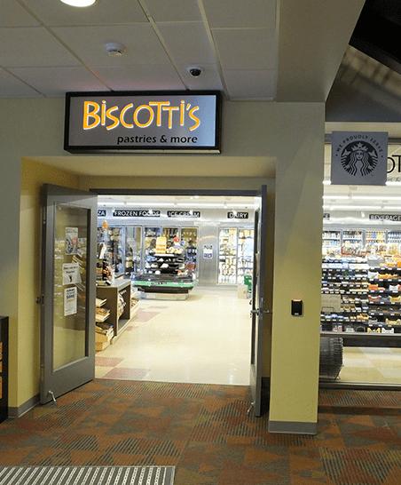 Biscotti's Entrance