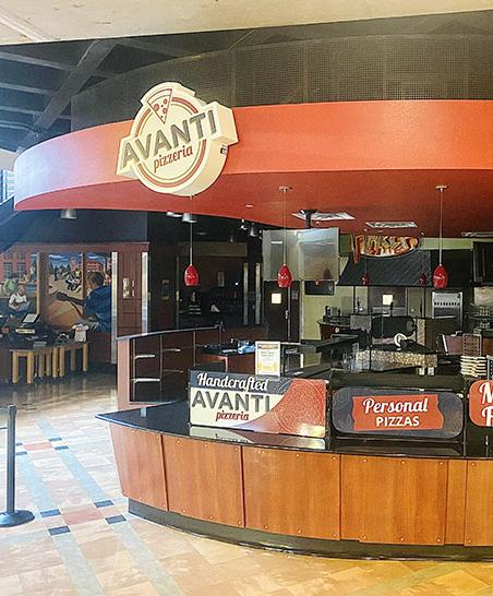 Find pizza and other Italian specialties at Avanti