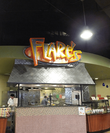 Grilled favorites and tex-mex at Flare's