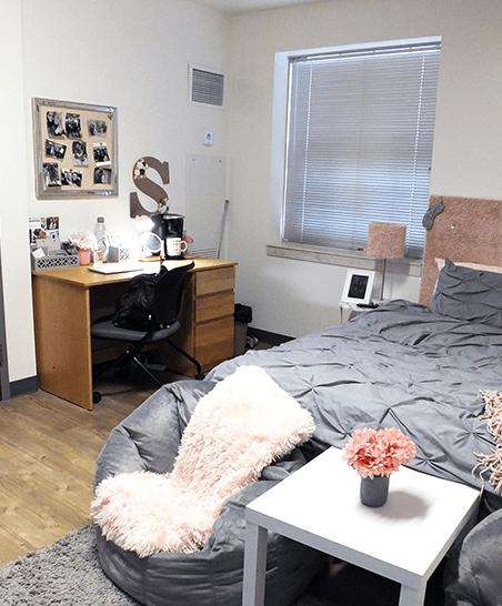 Single semi-private suite
