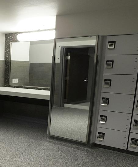 Storage in Community Bathroom