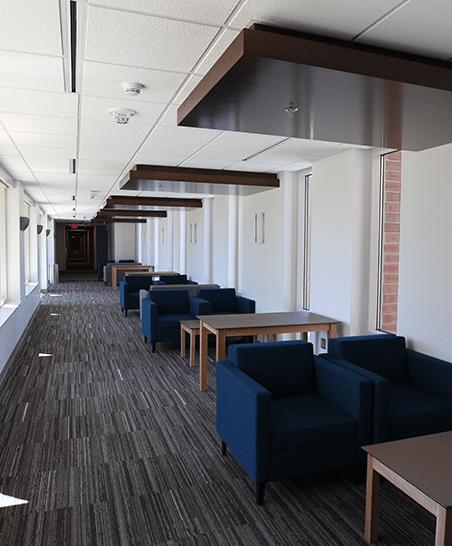 Hallway study area