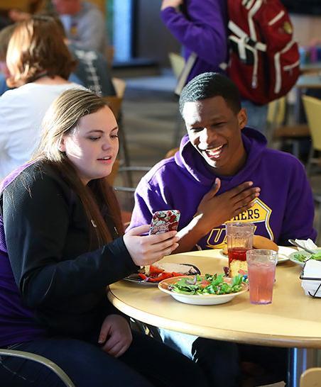 Dining at University of Northern Iowa